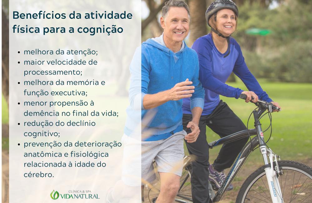 Benefícios do exercício para a cognição