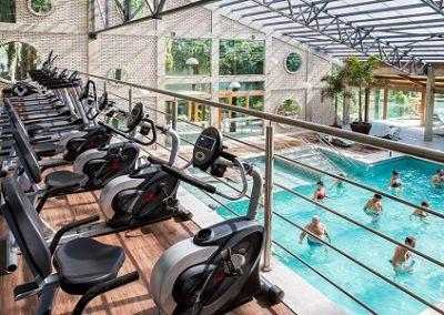 Infraestrutura espaço fitness