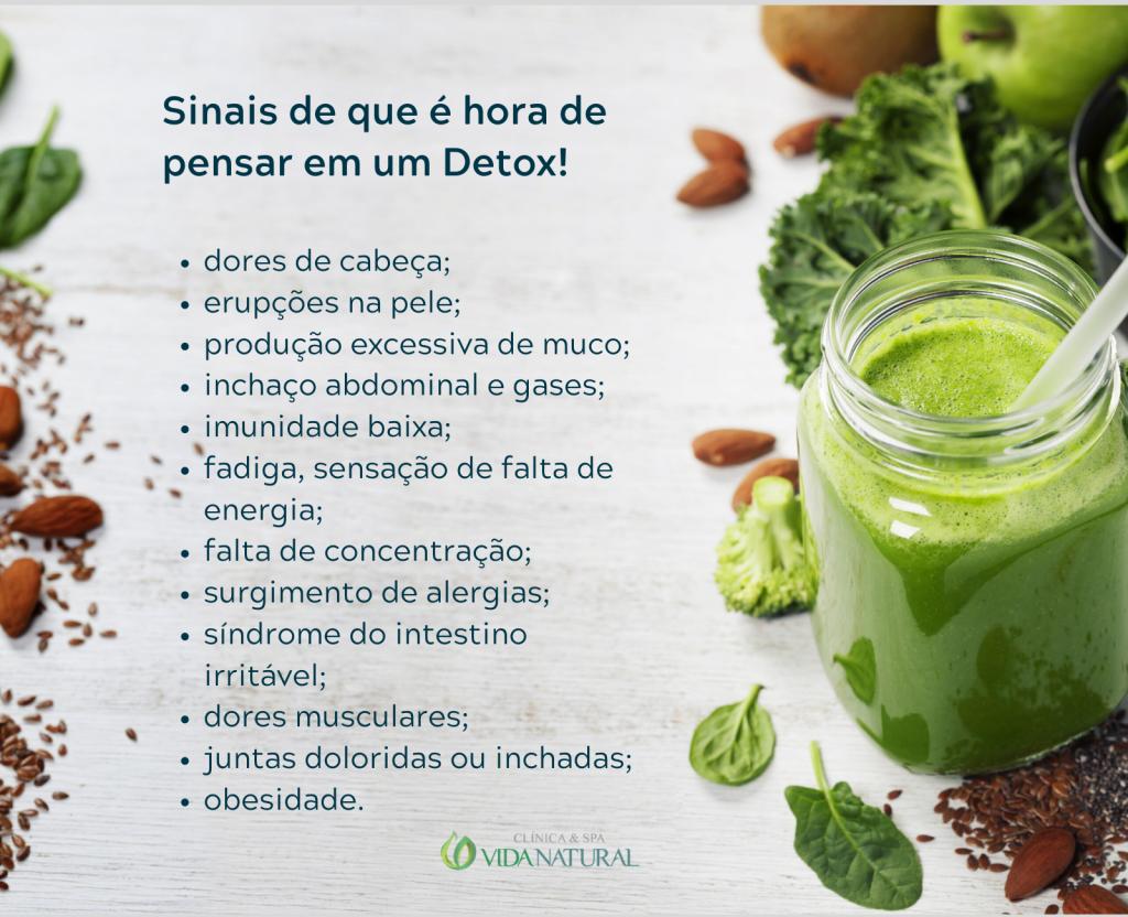 shake detox para emagrecer