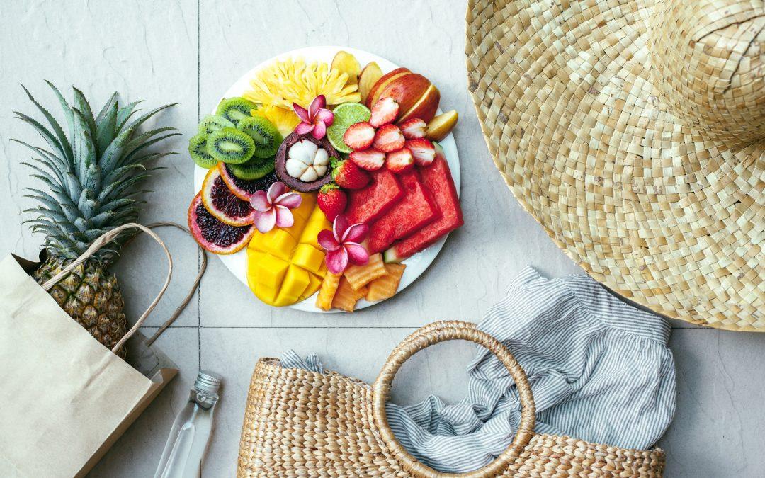 Reeducação alimentar no verão