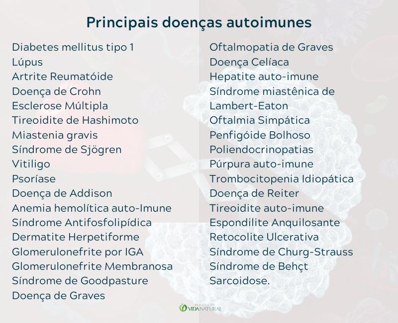 Principais doenças autoimunes