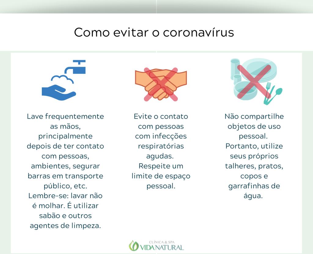 Como evitar o coronavírus 2