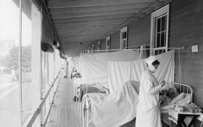 Infecções respiratórias e hidroterapia: o que a História mostra sobre o tratamento da gripe espanhola?